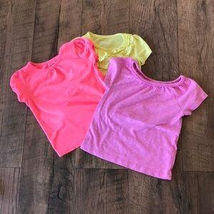 Shirts & Tops - Girls T-shirts size 3.